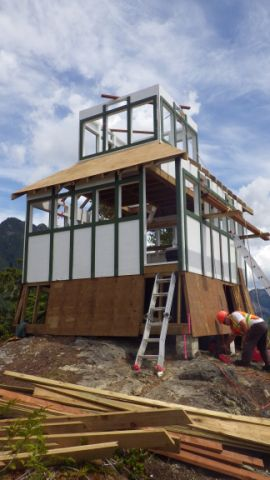 Woss Fire Lookout Tower Island Coastal Economic Trust